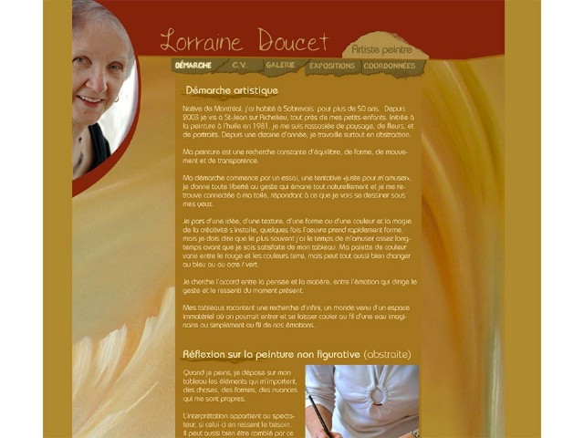 Lorraine Doucet / Artiste-peintre
